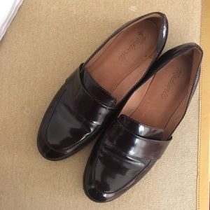 MADEWELL PATENT LOAFERS